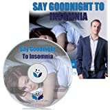 Say Goodnight to Insomnia Self Hypnosis, Hypnotherapy Sleep Meditation CD