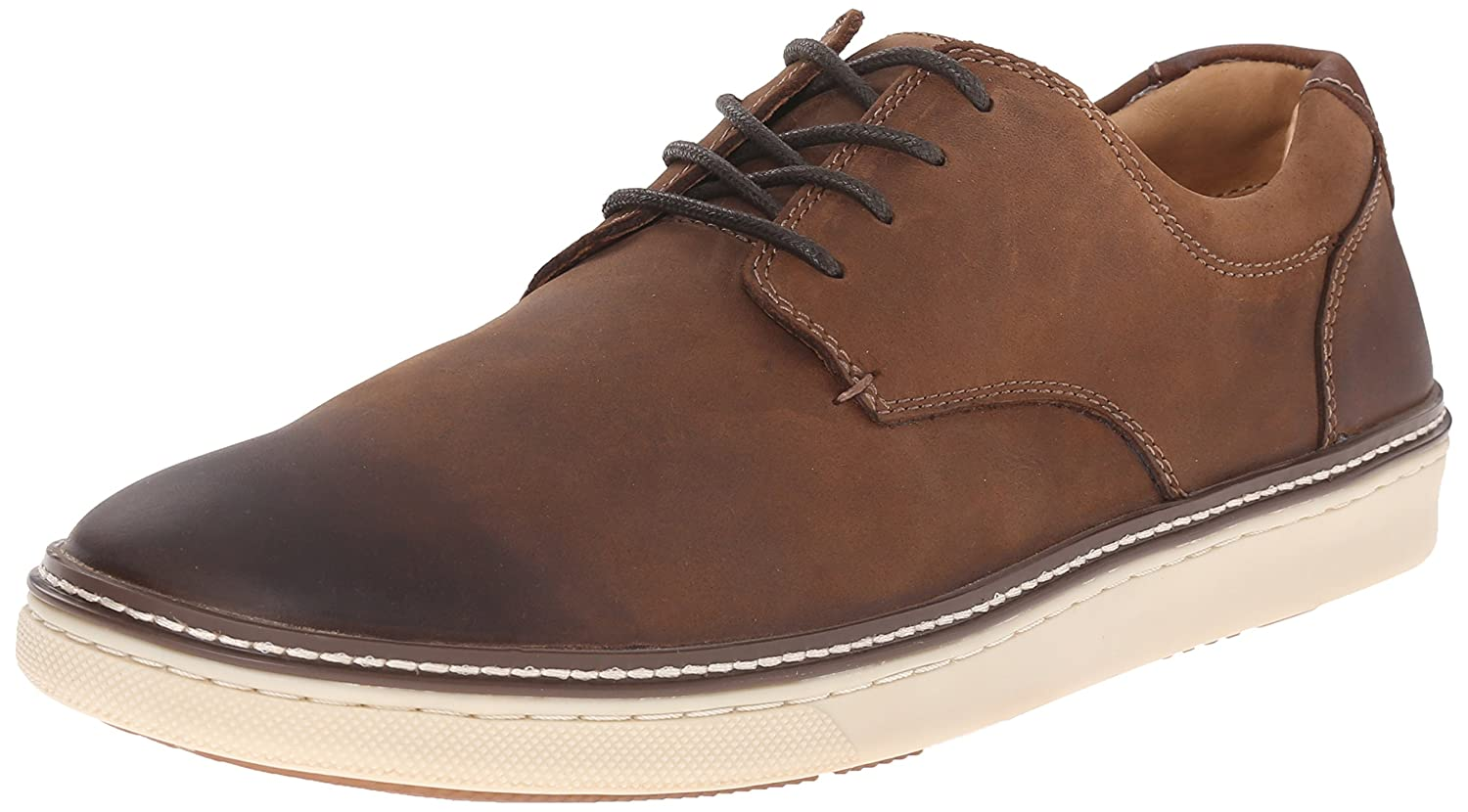 Brown Oiled Full Grain Johnston & Murphy Men's Mcguffey Plain Toe Fashion Sneaker