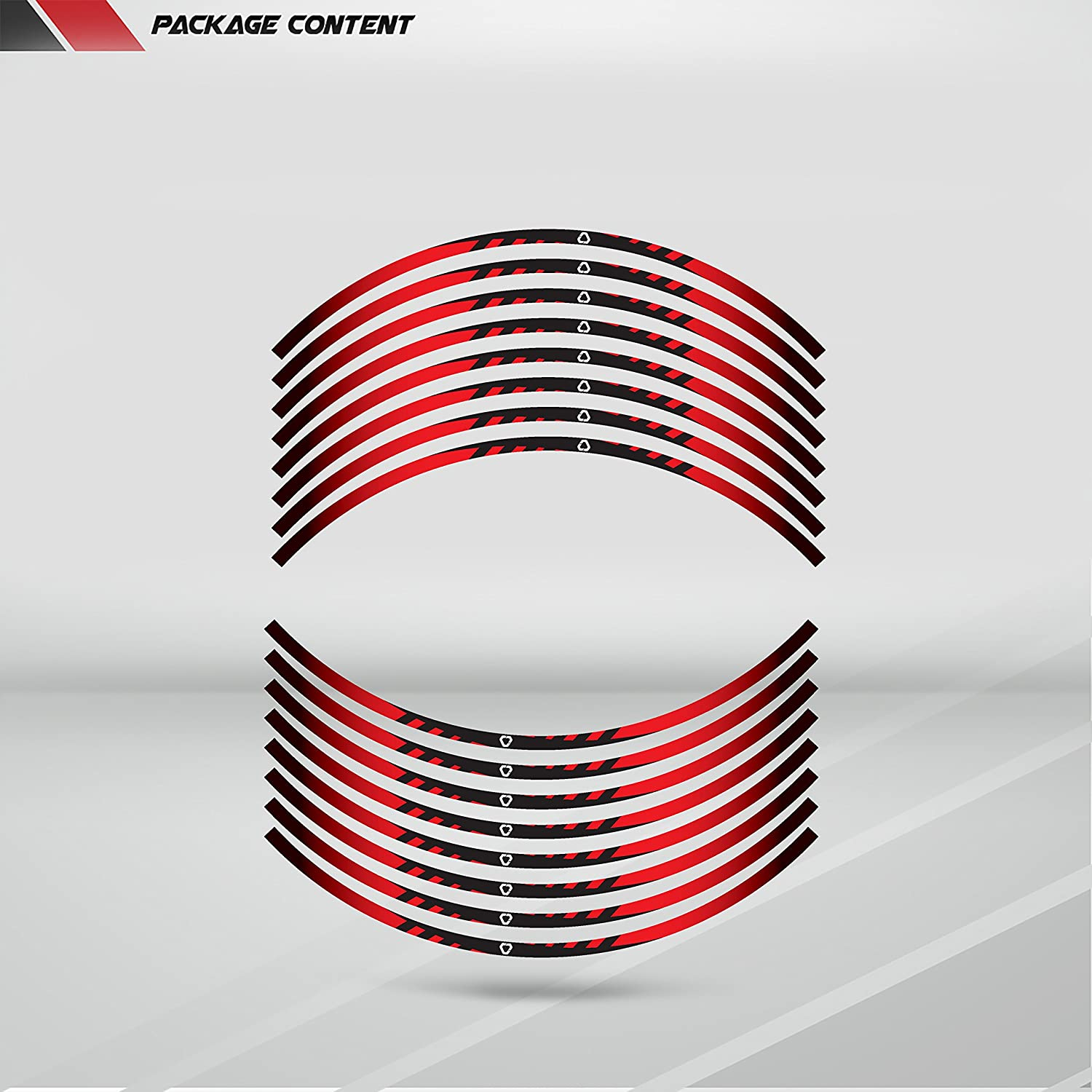 RS0062 decal wheel rim sticker graphics stripe kit for BMW Motorcycles