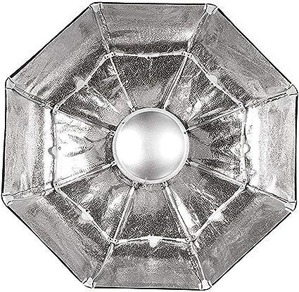 Nicefoto Faltbarer Beauty Dish Silbern 85 Cm Für Kamera