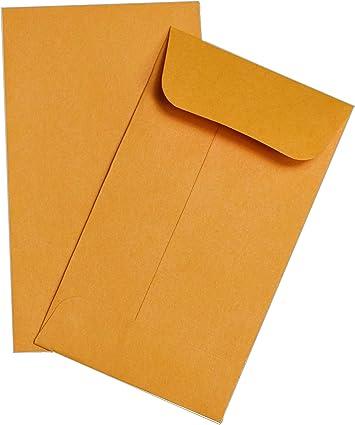 "Brown Kraft Guardian #1 Coin Envelopes 25//Pack 2-1//4/"" x 3-1//2/"""
