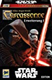 "Hans im Glück 48260"" Carcassonne - Star Wars Expansion 1 Family Game"