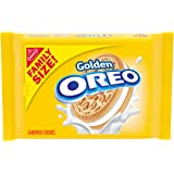 OREO Golden Sandwich Cookies, Family Size, 19.1 oz