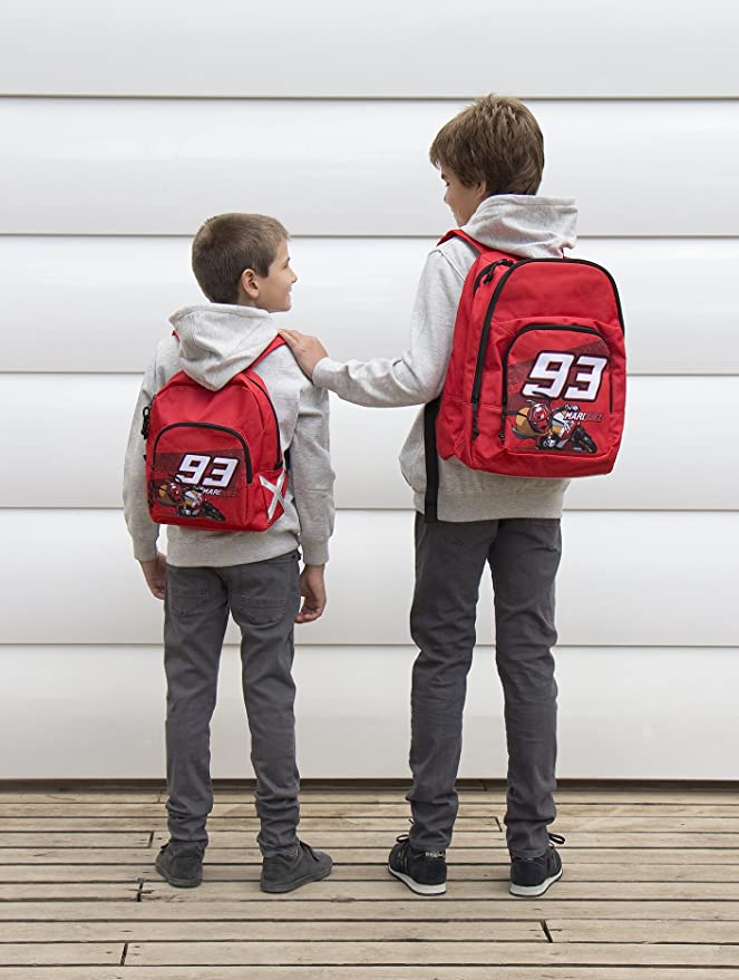 Marc Marquez 18470 - Mochila Grande Triple Wheel Track: Amazon.es: Equipaje