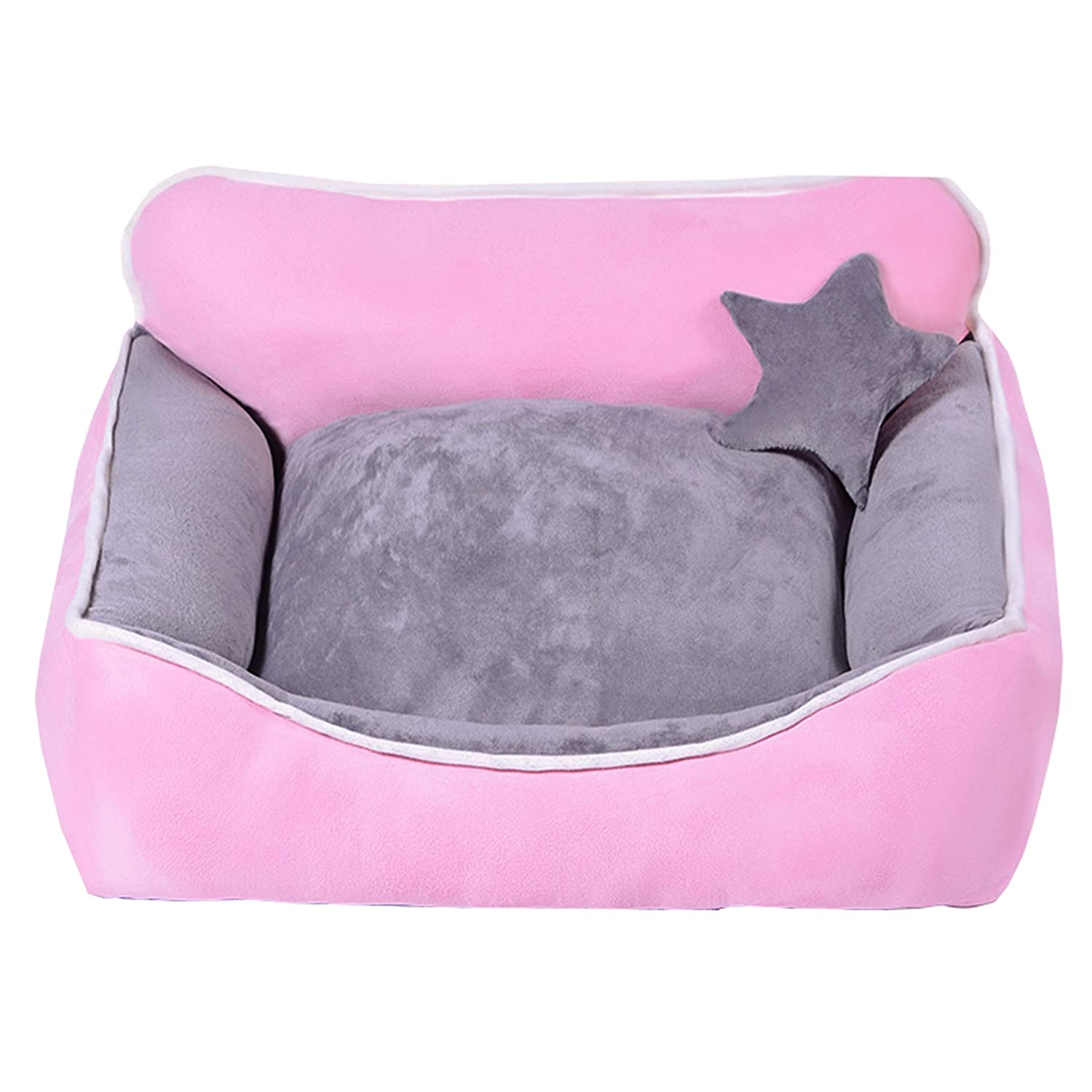 A1 Large A1 Large HHCWW Kennel Teddy Kennel removable and washable pet net red kennel four seasons small medium large dog bed winter warm,a1,L
