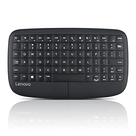 Lenovo 500 Multimedia Controller, Integrated Touch Pad, Windows Gesture  Support, Compact, light weight, 2 4 GHz wireless connection, Metal domed  keys