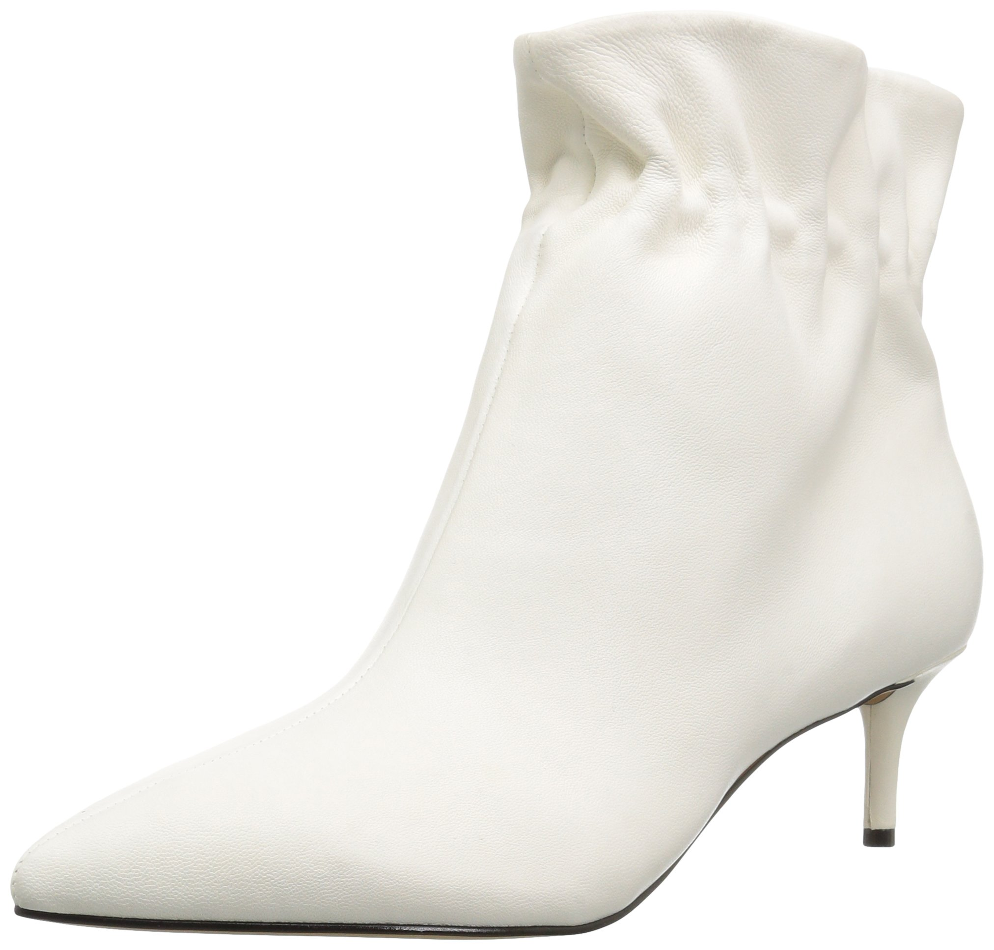 Dolce Vita Women's Rain Ankle Boot, Off White Leather, 10 M US