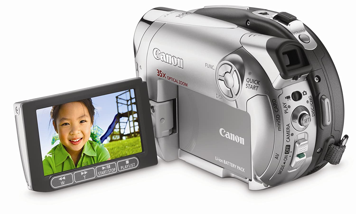 Amazon.com : Canon DC220 DVD Camcorder with 35x Optical Zoom (Discontinued  by Manufacturer