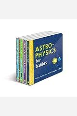 Baby University Physics Board Book Set: Astrophysics for Babies, Statistical Physics for Babies, Optical Physics for Babies, Nuclear Physics for Babies (Baby University Board Book Sets) Board book