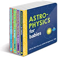 Baby University Physics Board Book Set: Explore Astrophysics, Nuclear Physics, and More with the Ultimate 4-Book Physics…