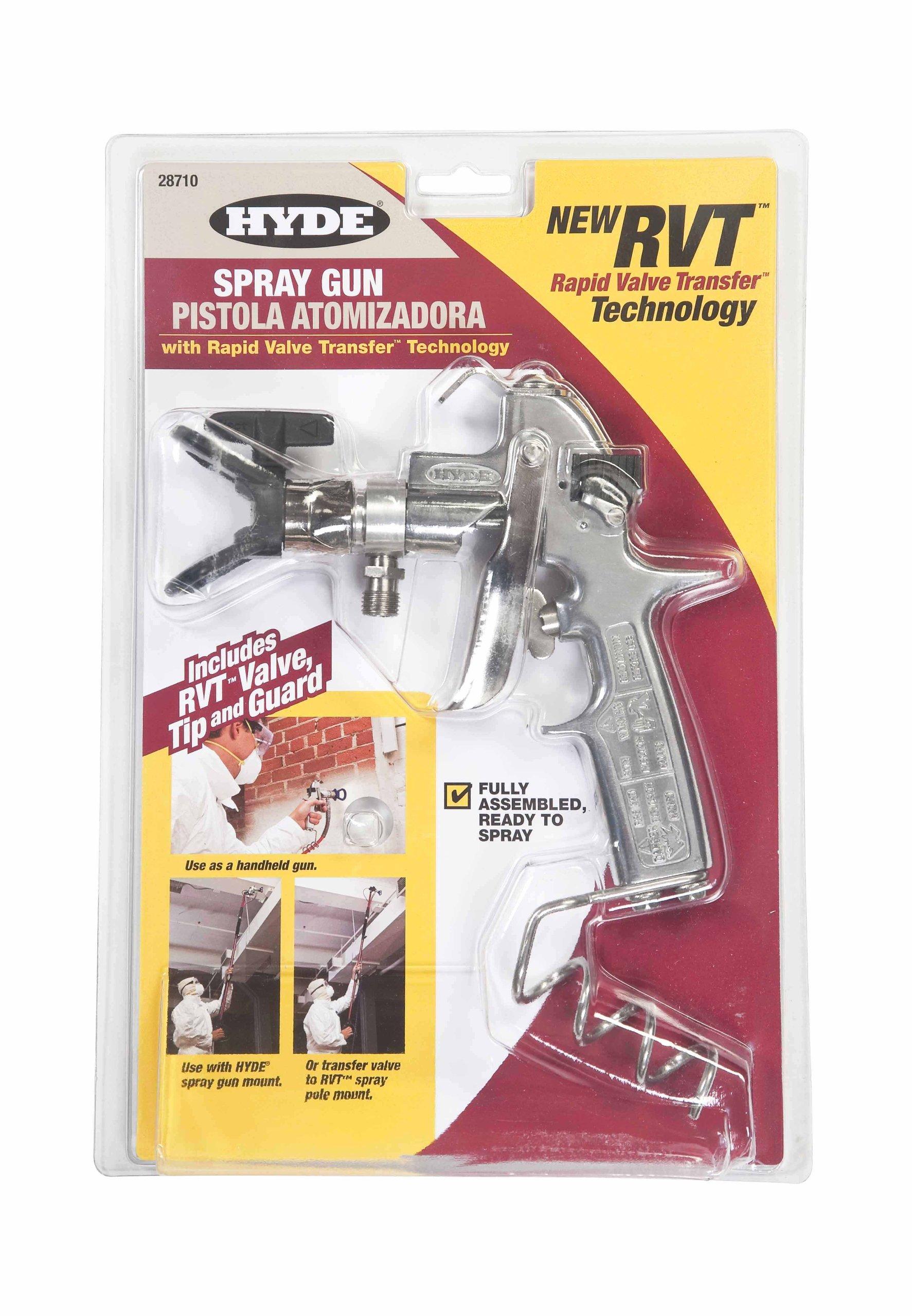 Hyde Tools Model 28710 RVT Paint Spray Gun