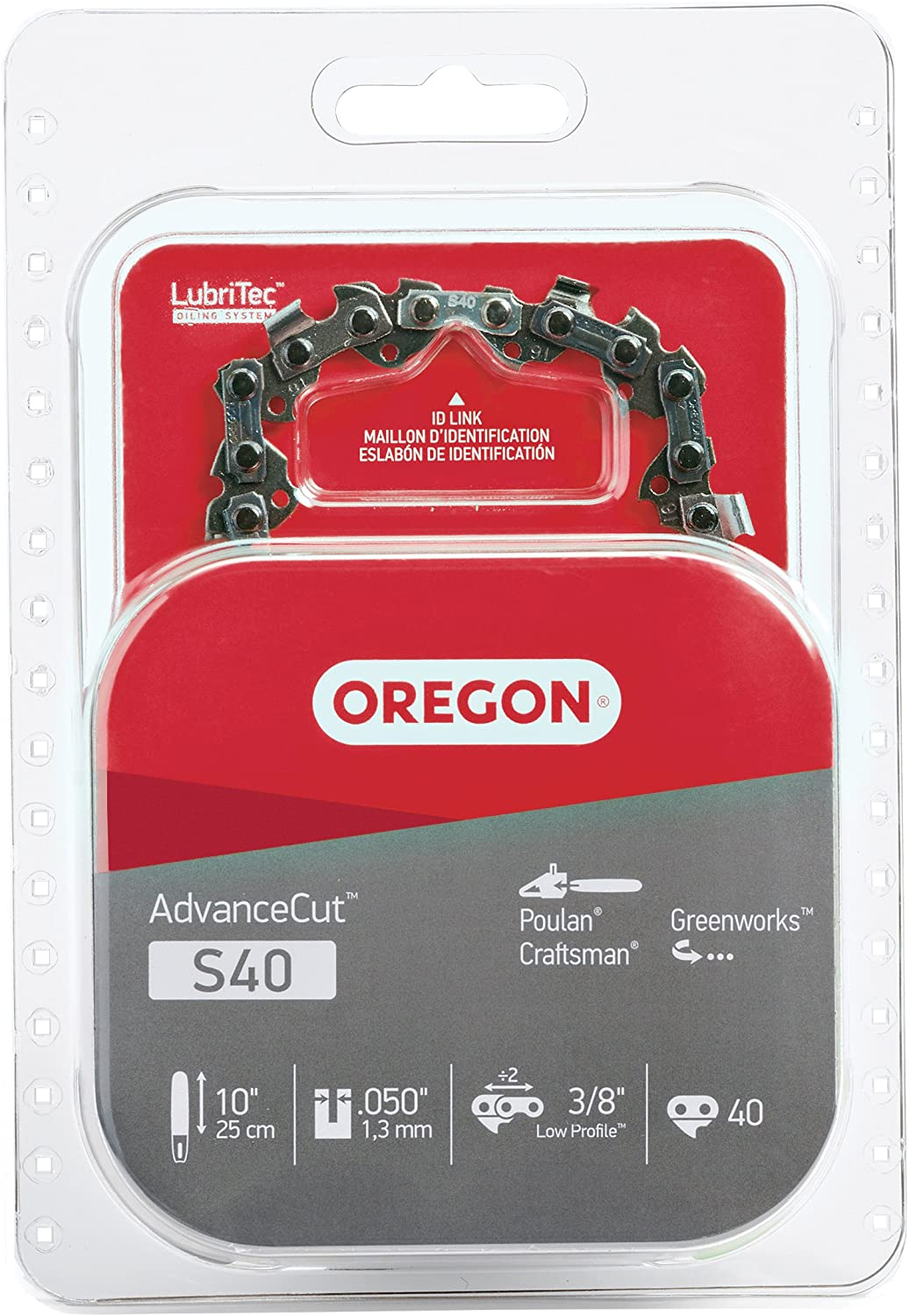 3. Oregon S40 Chainsaw Chain