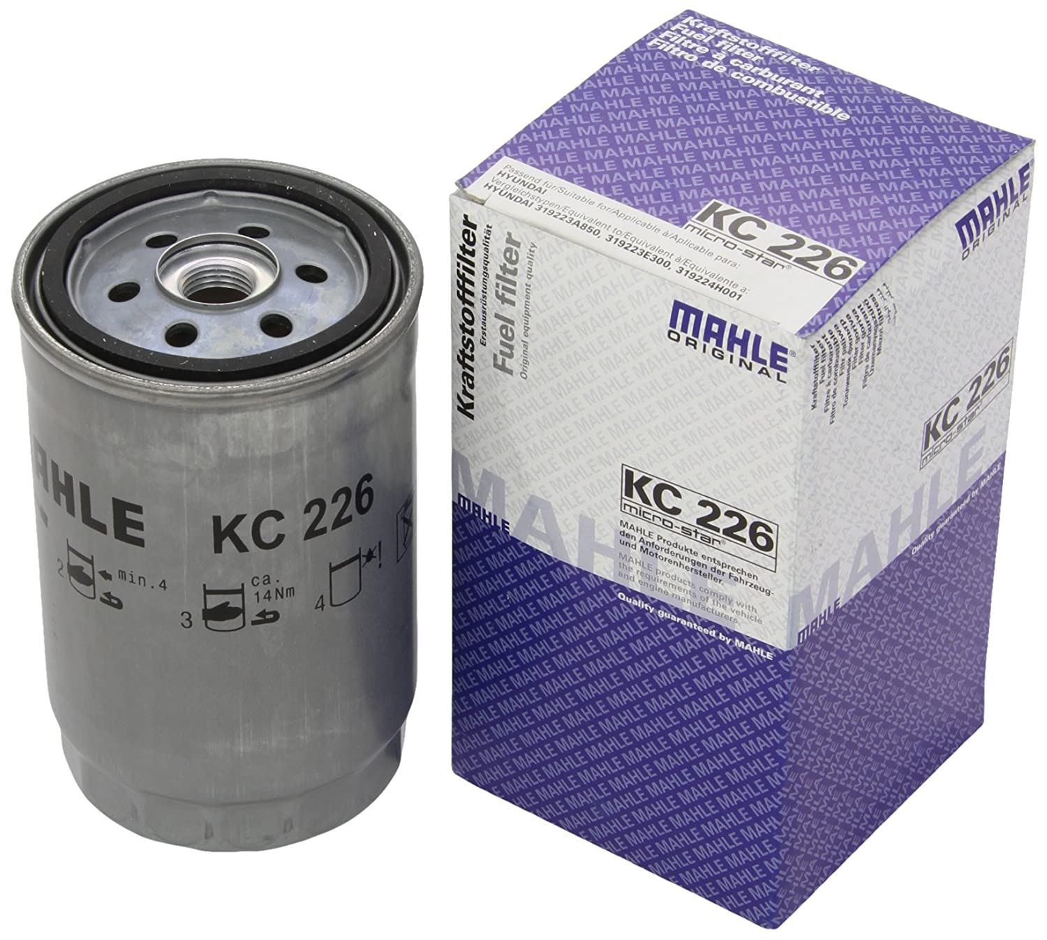 Mahle Filter KC226 Filtro De Combustible