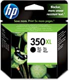 HP 350XL - Cartucho de tinta original, negro