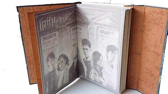 Jkr agenda Vintage Harry Potter estilo libro de magia ...