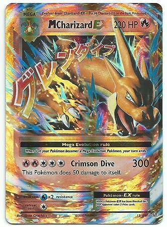 Pokemon card mega charizard