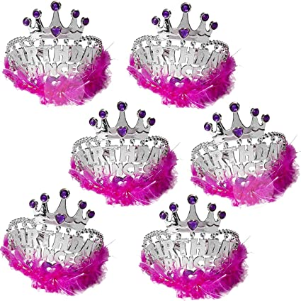 Girls Birthday party Princess Birthday Princess Crown Birthday Party Set of 10 Crowns 1st Birthday Party Little princess birthday