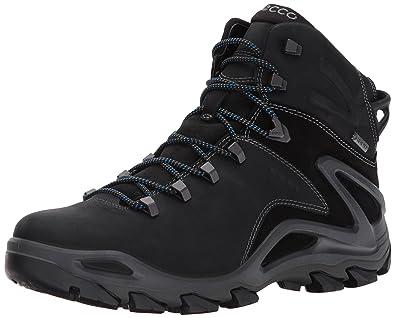 ECCO Mens Terra Evo High Gore-Tex Backpacking Boot,black/black,40