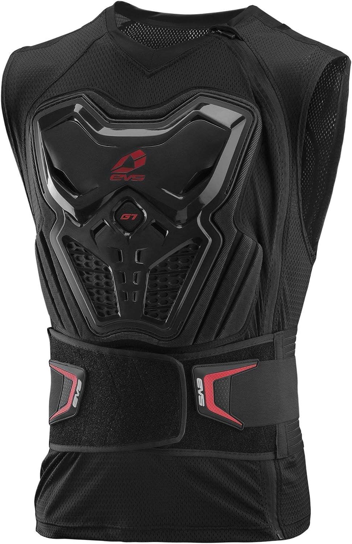 Black, Large EVS Sports Mens G7 Lite Ballistic Jersey