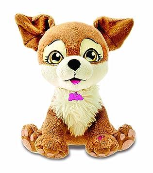 Barbie Intek My Fab Pets Lacey - Perro de peluche interactivo
