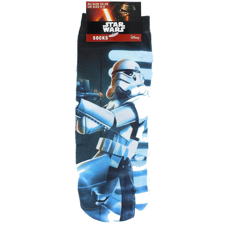Disney Star Wars Storm Trooper Printed Children's Socks - UK Size 6-8