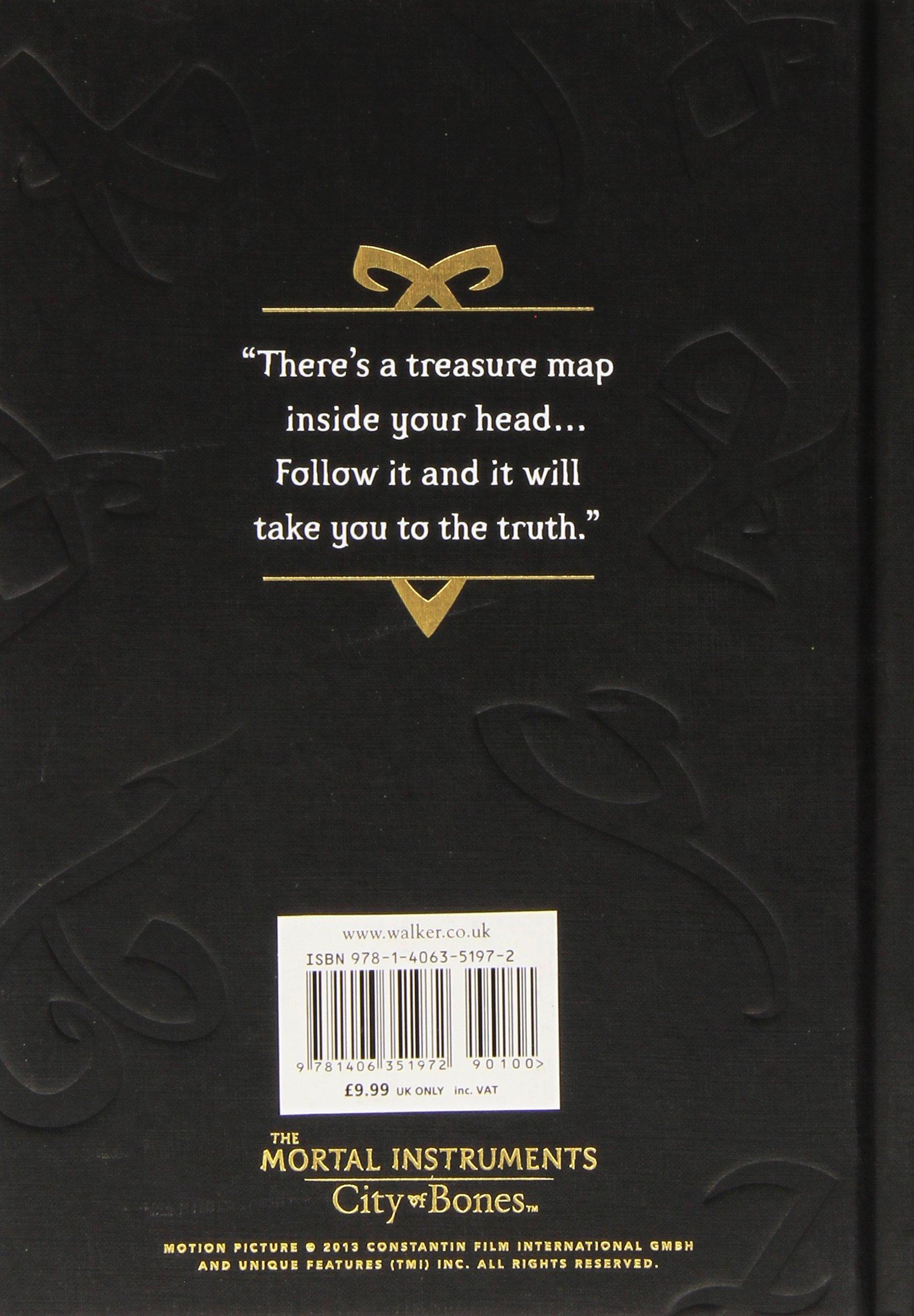 The Mortal Instruments 1 City Of Bones Journal Movie Tie In