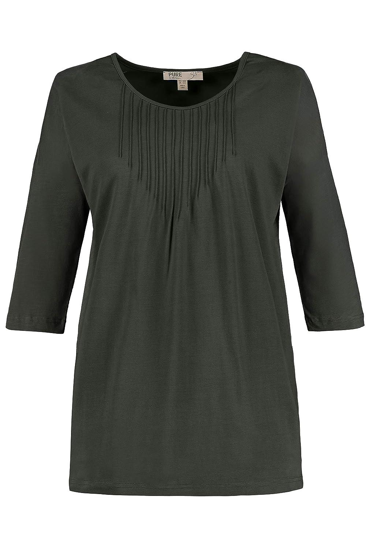 VCoton T Tailles Ulla Popken Grandes Femme Shirt BioJersey RA5jL4