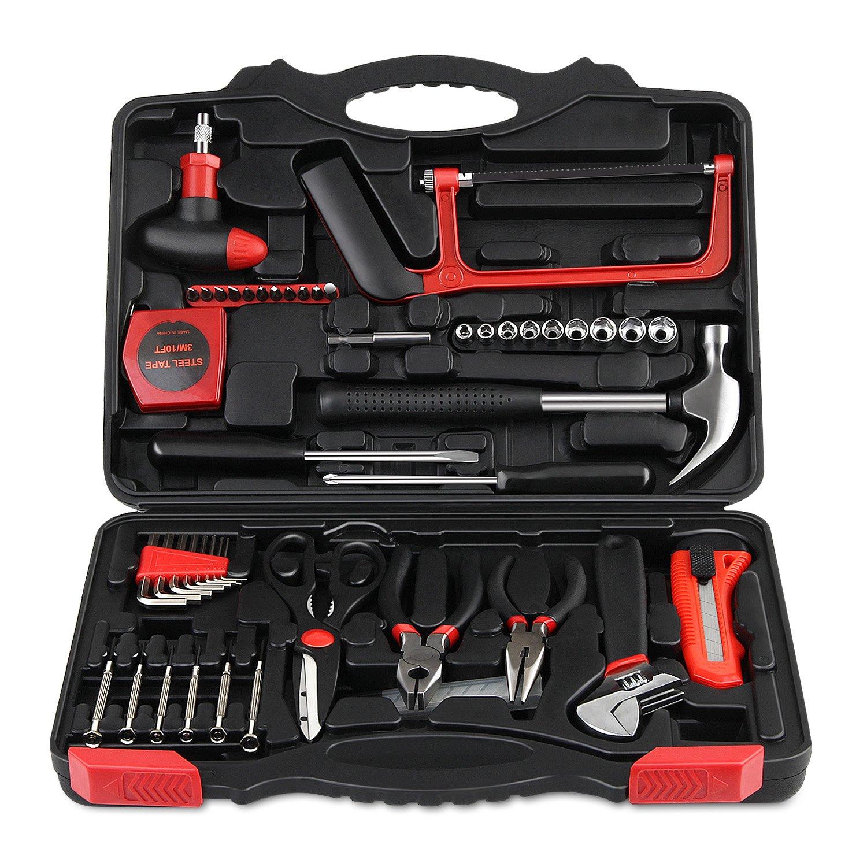 INTEY Piezas Juego De Herramientas caja con herramientas maletin con herramientas Para