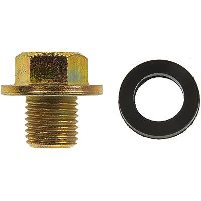 Dorman 090-038CD Oil Drain Plug Standard M12-1.25, Head Size 14mm for Select Models: Automotive