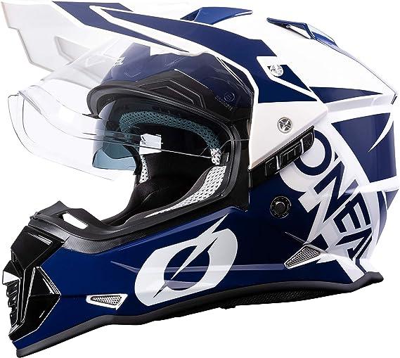 O Neal Motorrad Helm Enduro Motorrad Ventilationsöffnungen Für Maximalen Luftstrom Kühlung Abs Schale Integrierte Sonnenblende Sierra Helmet R Erwachsene Sport Freizeit