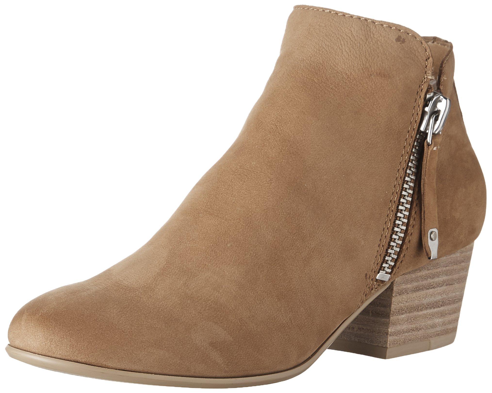Dolce Vita Women's Gertie Ankle Boot, Saddle Nubuck, 6.5 Medium US