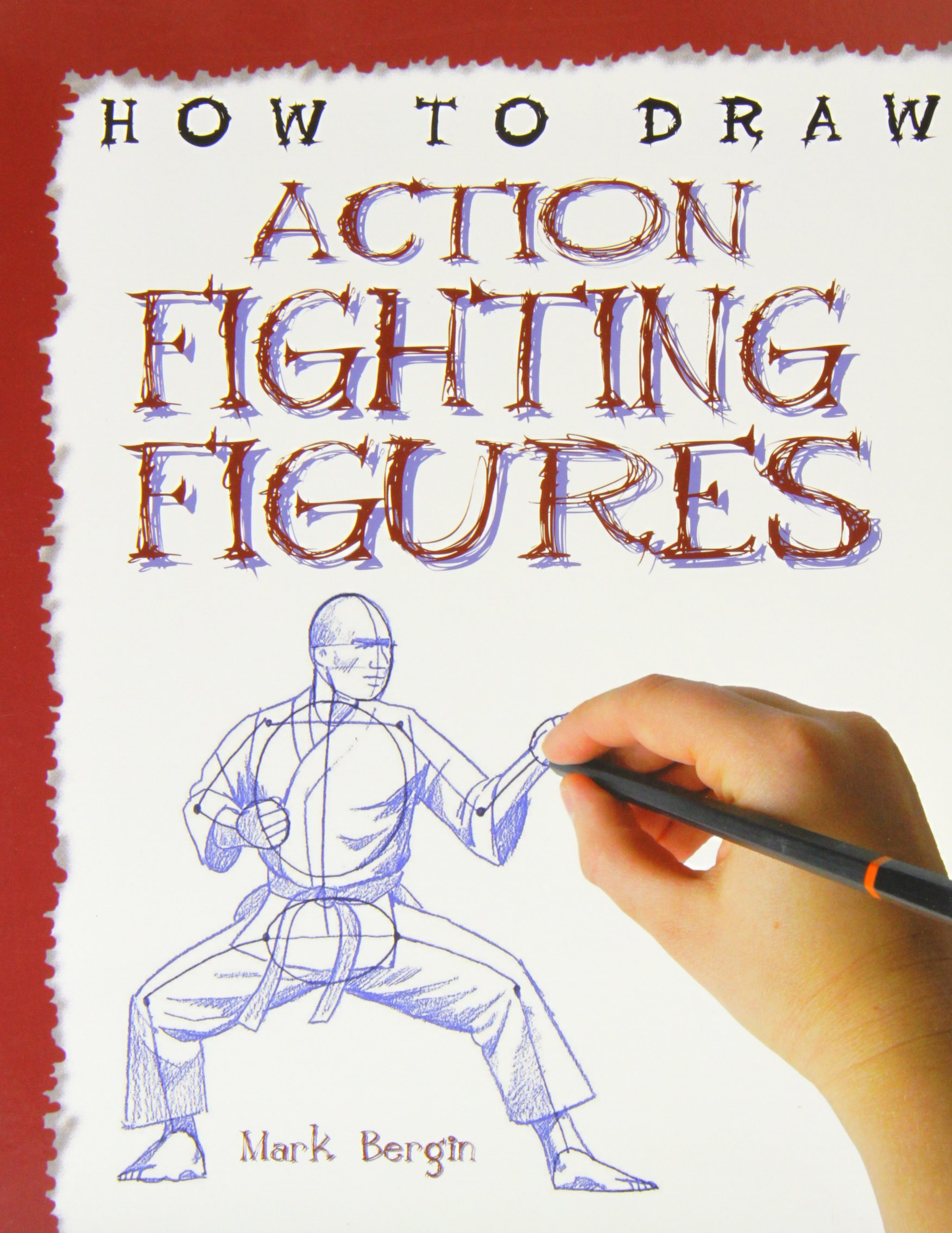Action Fighting Figures (How to Draw)