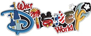 Disney Soft Touch Magnet - Walt Disney World - Letters