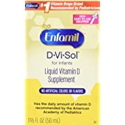 Enfamil D-Vi-Sol Vitamin D Supplement Drops for Infants 50 mL dropper bottle