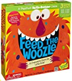 Peaceable Kingdom Feed the Woozle Award Winning Preschool Skills Builder Game for Kids