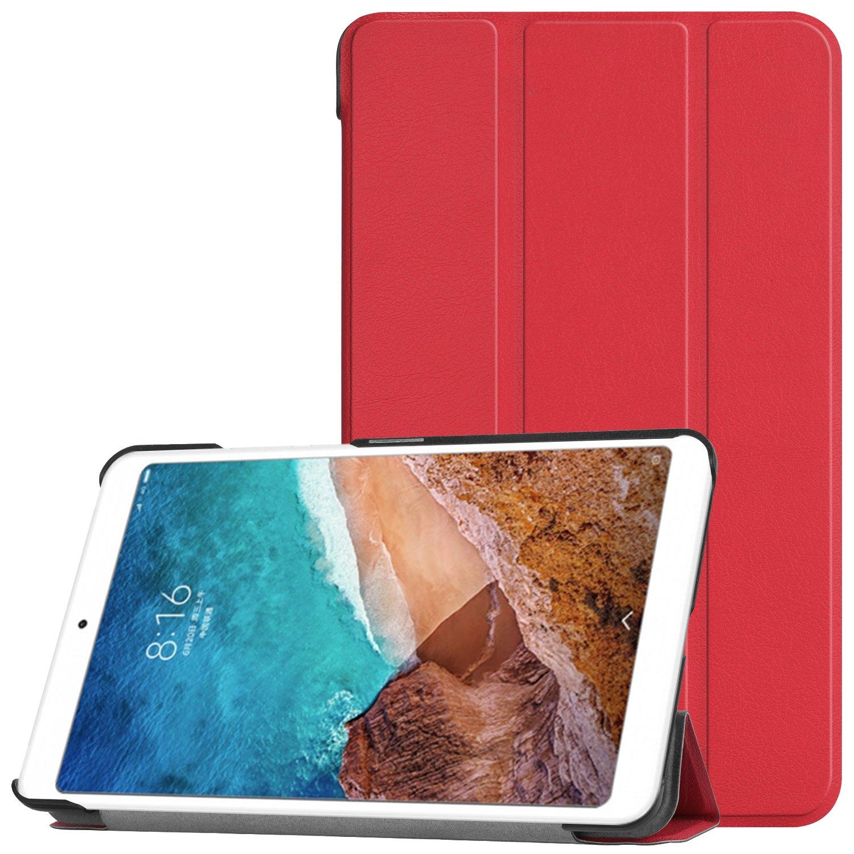 Slim Smart Protettiva Custodia Cover in Pelle PU per Xiaomi Mi Pad 4 7.9 Pollici 2018 Tablet Blu IVSO Xiaomi Mi Pad 4 Custodia Cover Case