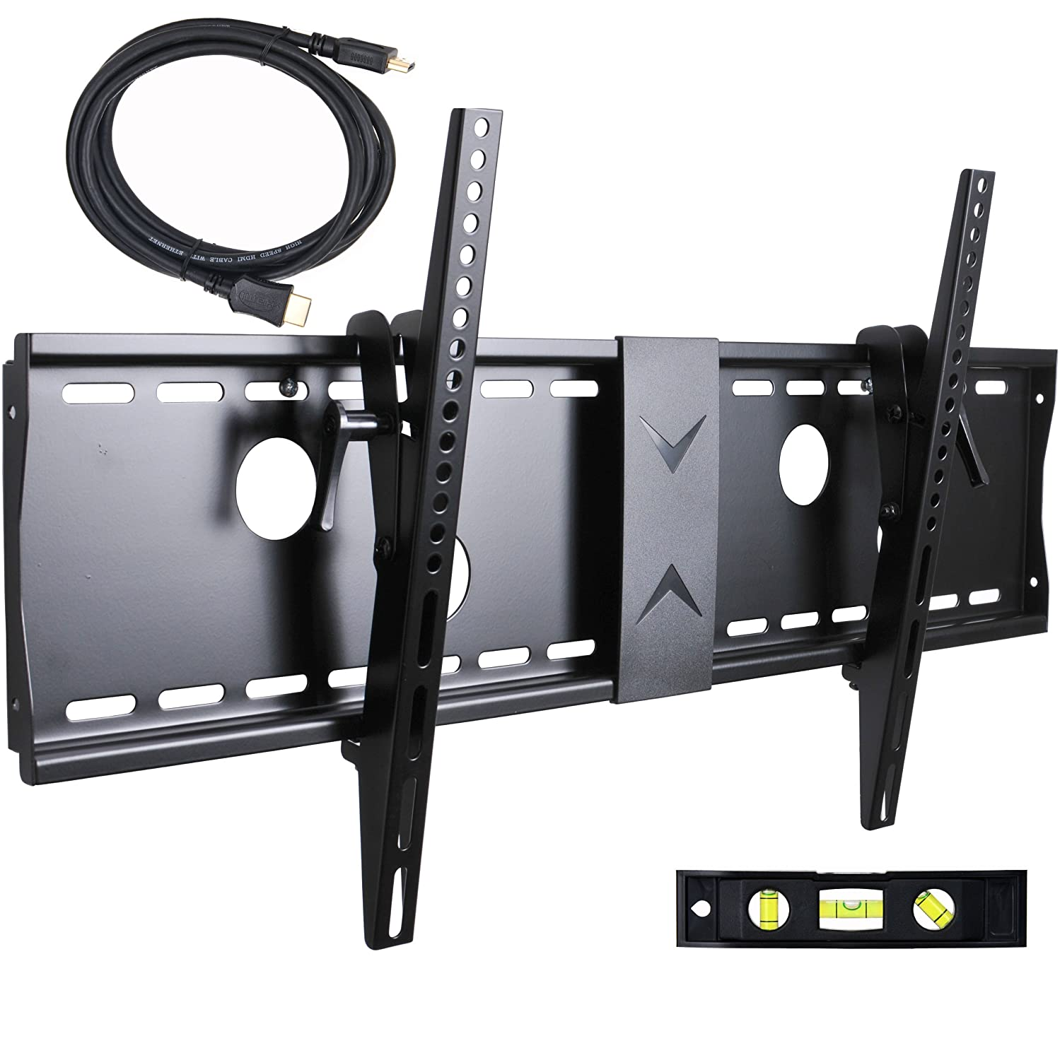Videosecu Tilt Flat Screen Tv Wall Mount Bracket For 37 Wallmounted Led Lcd And Plasma Tv39s Electronics 40 42 46 47 50 52 55 58 60 62 63 65 70 75 Max Vesa 700x400mm With