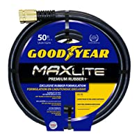 Swan Products CGYSGC58050 Maxlite Garden Hose, 50', Black
