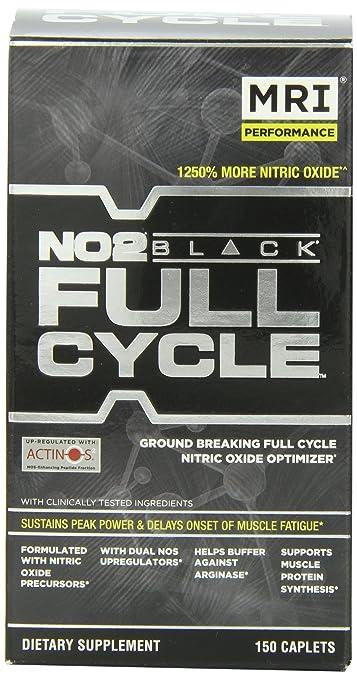 Amazon.com: MRI NO2 Black, Full Cycle, 150 Tabletas (1.7g C/u ...