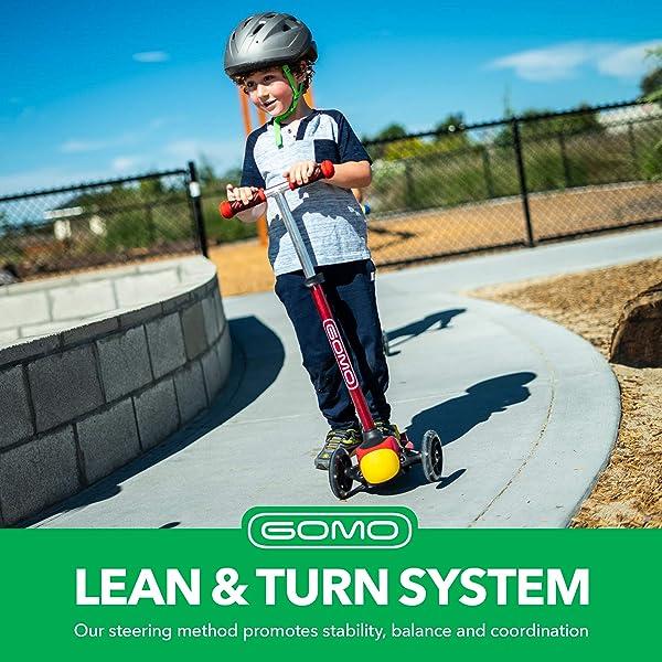 GOMO 3 Wheel Kids' Kick Scooter
