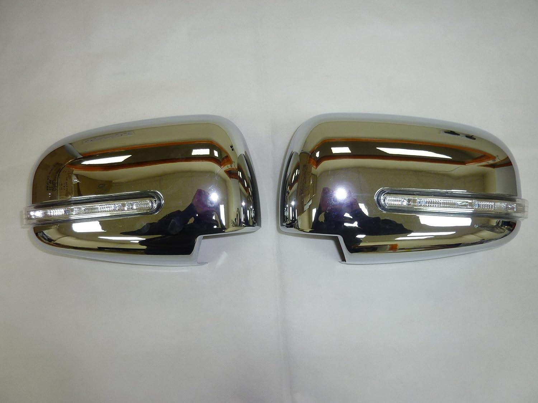 2006 /– 2012 MITSUBISHI L200 Triton Copri specchietto cromato con luci LED