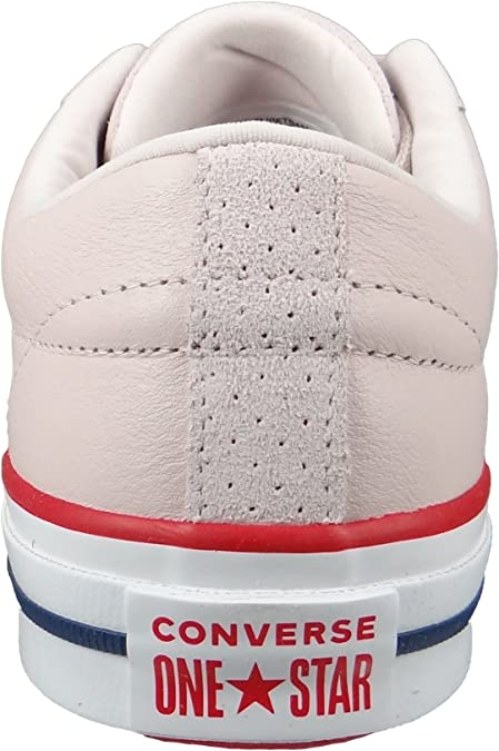 Converse Chucks 160623C Rosa One Star OX Barely Rose Gym Red White