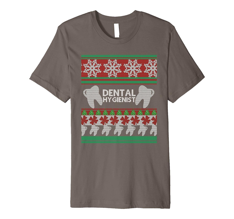 Dental Hygienist Ugly Christmas Sweater Premium T Shirt Sdu Shopdungnn