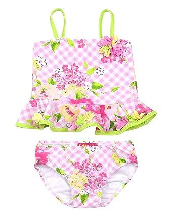 d4ce86e3f5fa5 Amazon.com  Kate Mack Little Girls  Tankini Gingham Garland