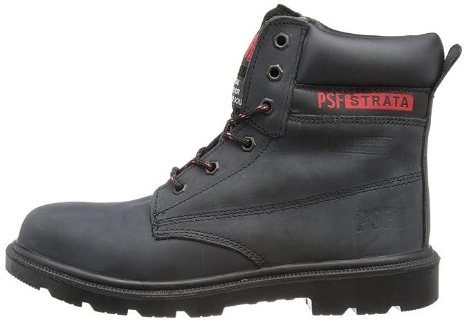 PSF Safety, Herren Chukka Boots, Schwarz, 41.5 EU