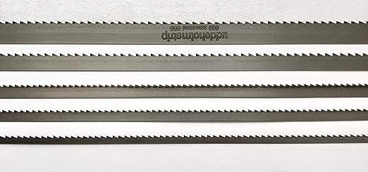 2100mm x 0,4mm 6ZpZ Mischpaket SET Bands/ägebl/ätter 6//10//15mm Breite von 1070mm-2500mm L/änge Uddeholm Schwedenstahl