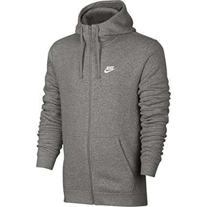 Amazon.com  NIKE Sportswear Men s Full Zip Club Hoodie  Sports ... 3262b7ff6
