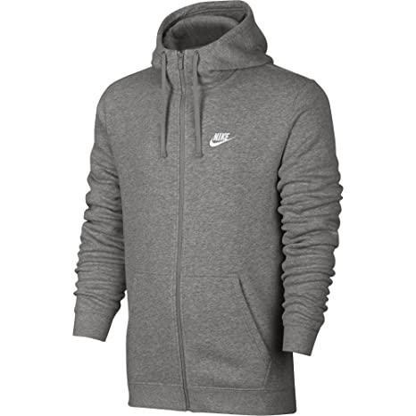 7c01d7b203 Amazon.com  NIKE Sportswear Men s Full Zip Club Hoodie  Sports ...