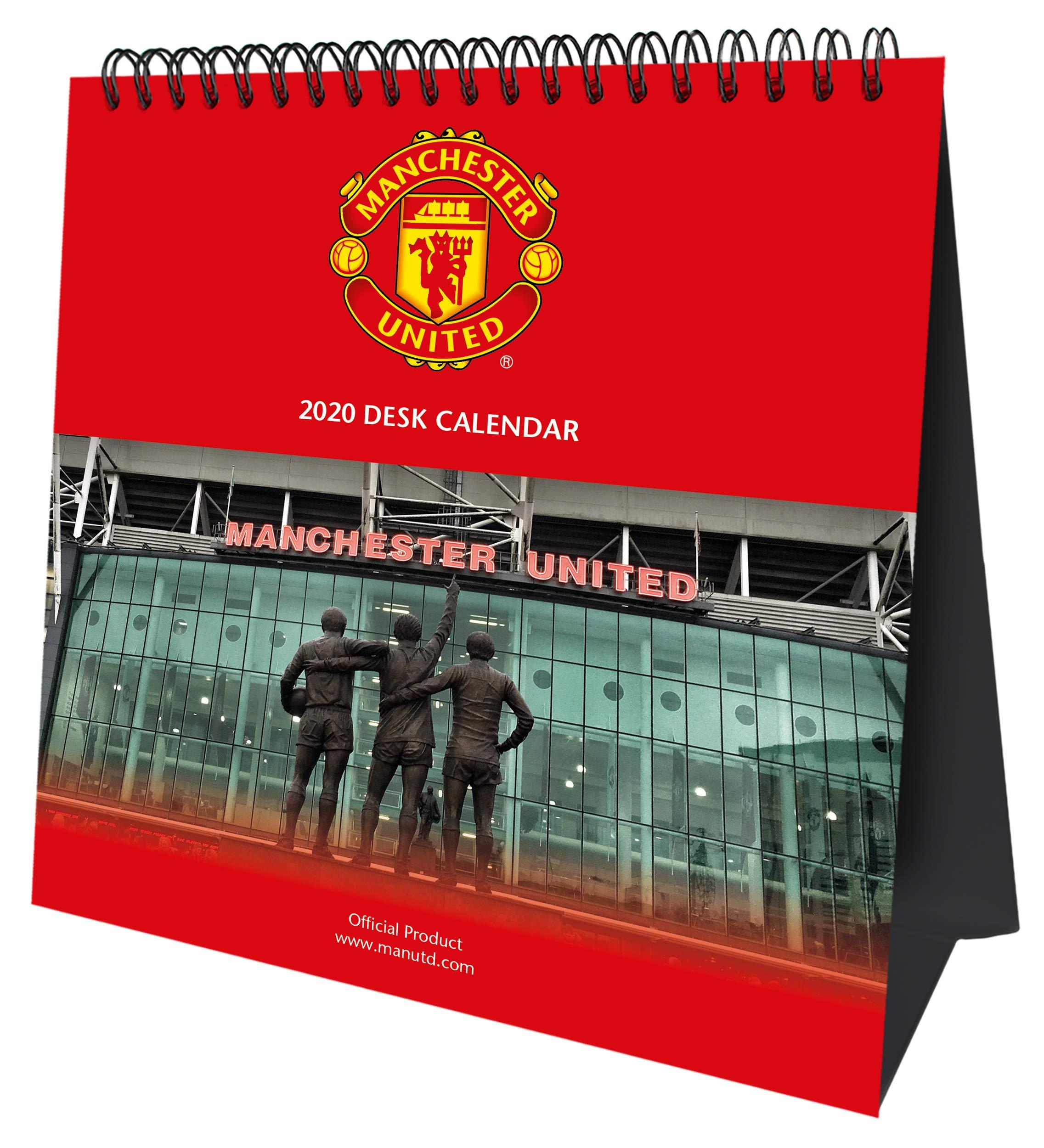 Academic Calendar Utd Fall 2020.Manchester United Fc 2020 Desk Easel Calendar Official