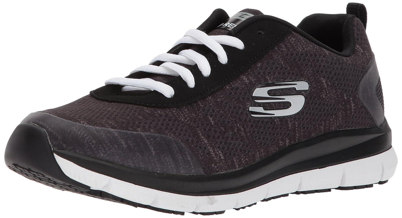 Skechers Women's Comfort Flex HC Pro SR Health Care Service Shoe B072M34F5P 10 B(M) US|Black/White